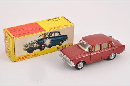 автомодель, Москвич 408, DINKY TOYS 1410, металл, Франция, 1968-1971 г.