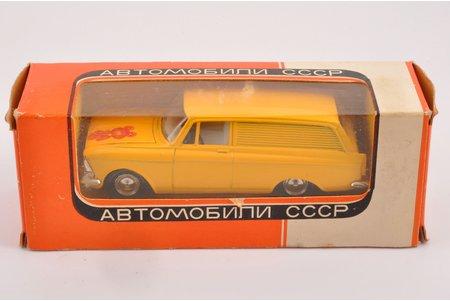 """автомодель, Москвич 434 № А6, """"Олимпийский мишка"""", металл, СССР, 1978 г."""