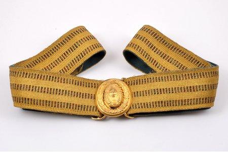 Парадный генеральский ремень, длина 153 см, СССР, 50-60е годы 20го века
