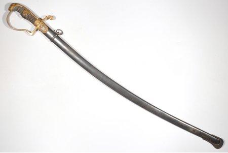 шашка, гвардейская, периода Первой Мировой войны, длина клинка от эфеса - 78 см, эфес - 17.5 см, Германия, начало 20-го века