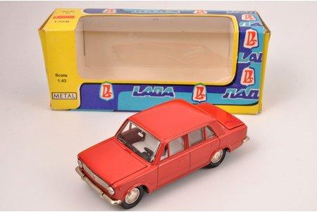 auto modelis, VAZ 2101 Nr. A9, metāls, PSRS, 1981 g.
