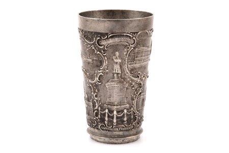 glāze, Sanktpēterburgas skati, alva, Krievijas impērija, h 10.2 cm