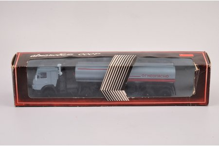"""auto modelis, Kamaz 5410, """"Uzliesmojošs"""", koversija, autora paraksts, metāls, 1991 g."""