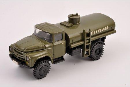 """auto modelis, ZIL 130 B1, """"Uzliesmojošs"""", metāls, PSRS"""