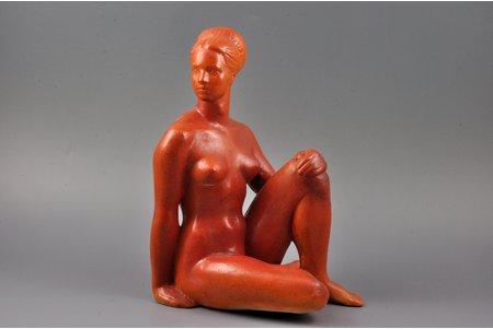statuete, modele, porcelāns, Rīga (Latvija), PSRS, autordarbs, modeļa autors - Georgs Kruglovs, 20. gs. 80tie gadi, 26 cm