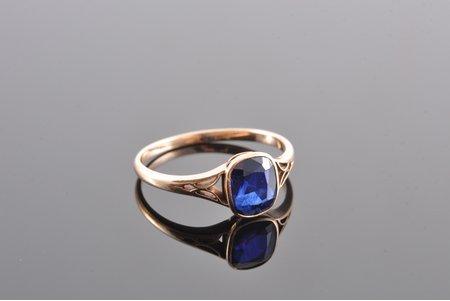 кольцо, золото, 56 проба, 1.80 г., размер кольца 17.7, Российская империя