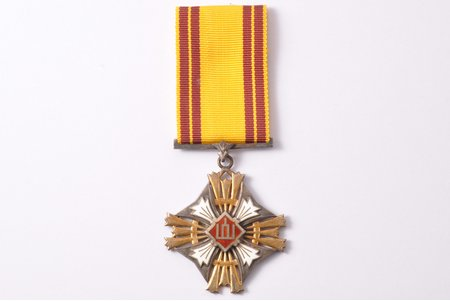 order, The Order of the Lithuanian Grand Duke Gediminas, 5th class, Lithuania, the 30ies of 20th cent., 49 x 42.8 mm