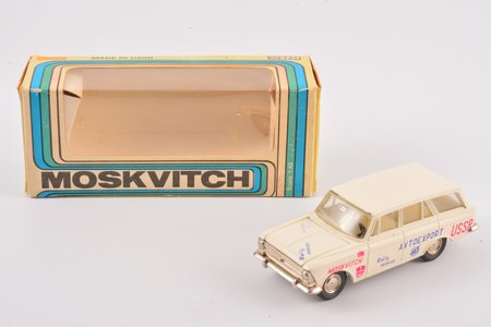 "car model, Moskvich 426 Nr. A3, ""Rally service"", metal, USSR, ~1980"