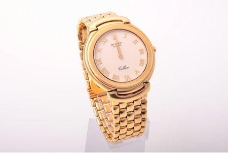 """wristwatch, """"Rolex"""", Switzerland, gold, 750, 18 K standart, 116.30 g, 27.5 mm"""