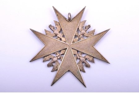 badge, II Ritter, Germany, 1921, 49.6 x 49.4 mm, 12.20 g