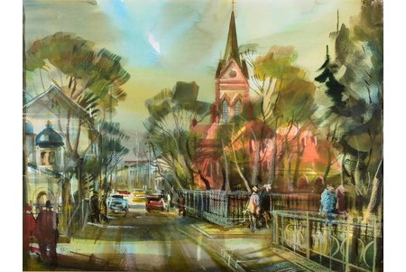 Roga Uldis (1941), Jelgava, 2005, paper, water colour, 44.5 x 59.5 cm