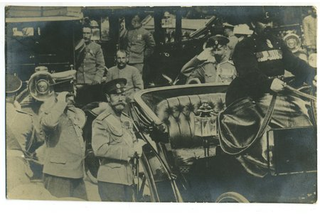 photography, Riga, the visit of His Highness Tsar Nicolas II, Latvia, Russia, beginning of 20th cent., 13,8 x 8,8 cm