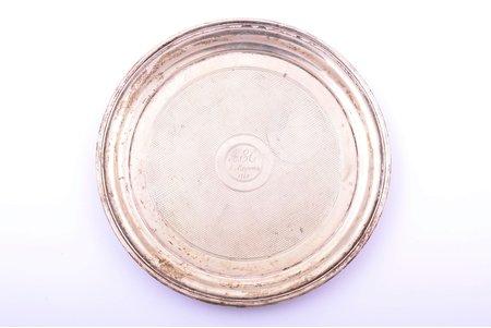 plate, silver, 84 standart, 1869, 174.55 g, workshop of Pavel Ovchinnikov, Moscow, Russia, Ø 16 cm