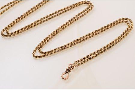 watchguard, Russia(?), gold, 56(?) standart, 49.69 g, 145 cm