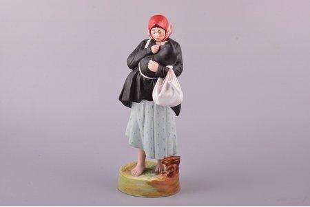 статуэтка, Мать, фарфор, Российская империя, Гарднер, 1880 г., 23.9 см
