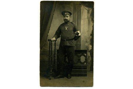 фотография, санитар, Российская империя, начало 20-го века, 13,5x8,5 см