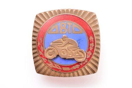 знак, Авто-мото, СССР, 29.8 x 29.8 мм