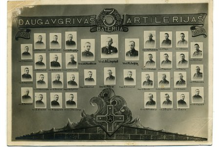 photography, Latvian Army, Latvia, 20-30ties of 20th cent., 16,8x12 cm