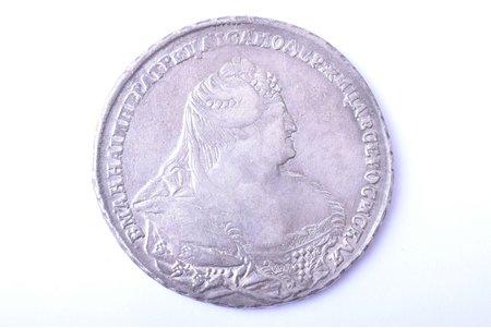 1 ruble, 1739, silver, Russia, 25.02 g, Ø 41.1 mm, VF