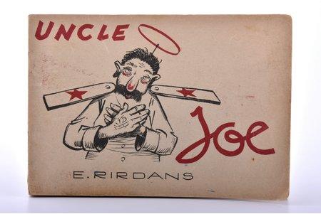 "Ernests Rirdāns, ""Uncle Joe"", karikatūru krājums, ~1940-1950, Wardland LTD, London, 11.9 x 17.2 cm"