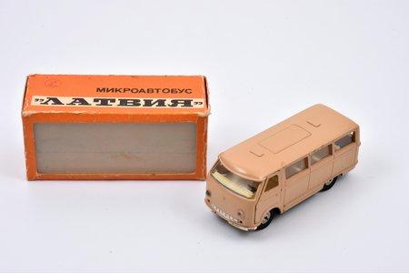 "car model, RAF 977 ""Latvia"", metal, USSR, 1980"