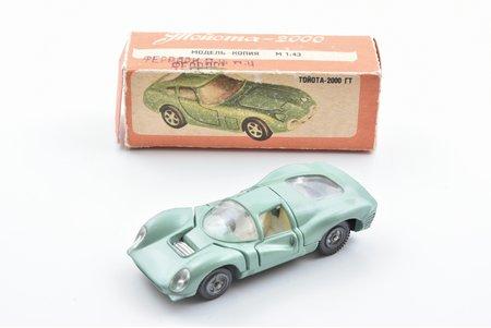 car model, Ferrari P4, metal, USSR