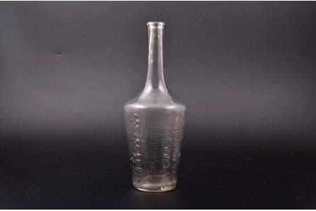 бутылка, торговый дом П.А. Смирнова в Москве, Российская империя, рубеж 19-го и 20-го веков, h 25.3 см