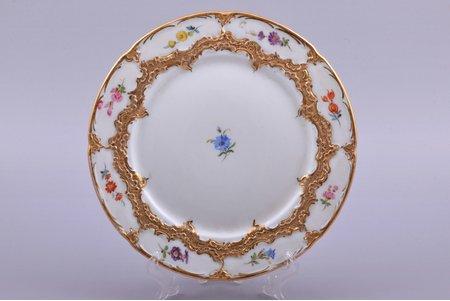 plate, porcelain, Meissen, Germany, Ø 19.7 cm