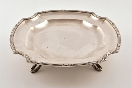 candy-bowl, silver, 950 standart, 594,70 g, France, 24 cm