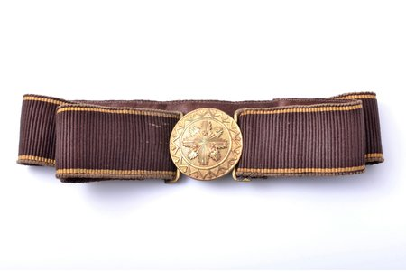 a belt, Latvian Army, lenghth 90 cm, Latvia, the 20-30ties of 20th cent.