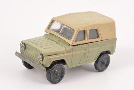 car model, УАЗ - 469 М, Herson factory, plastic, USSR, 1990-1991