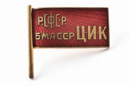 nozīme, Burjatu-Mongoļu APSR CIK (Centrālā Izpildkomiteja), bronza, PSRS, 20.gs. 20-30ie gadi