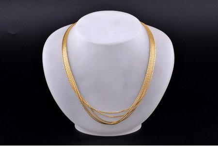 a chain, gold, 36.94 g., the item's dimensions 47.5 cm, Finland
