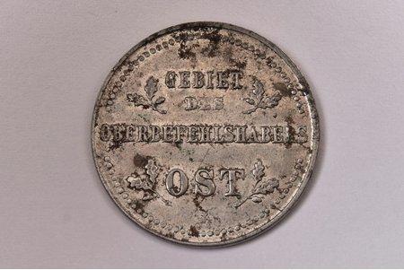 1 kopeika, 1916 g., J, dzelzs, Vācija, 2.99 g, Ø 21.4 mm, XF