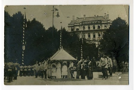 photography, Latvia, Russia, beginning of 20th cent., 13,6x8,8 cm