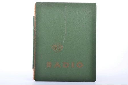 """VEF Radio fotoattēlos"", 1935-1940, Valsts Elektrotechniskā fabrika, Riga, damaged spine, 26 x 20 cm"