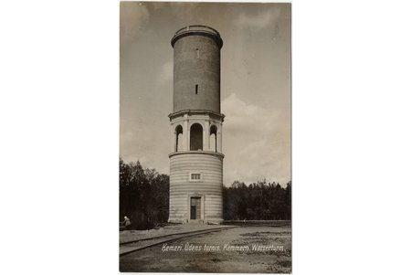 photography, Ķemeri (Kemmern), water tower, Latvia, 20-30ties of 20th cent., 13.4 x 8.5 cm