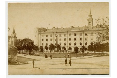 photography, Riga, castle square, Latvia, Russia, the border of the 19th and the 20th centuries, 14x10,2 cm