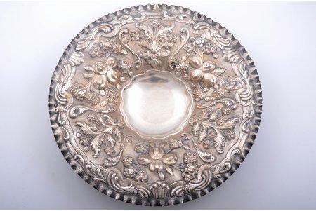 fruit dish, silver, 735 standart, 1641,20 g, Ø 41.1 cm