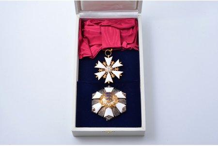 Baltās zvaigznes ordenis, 1. pakāpe, Igaunija, 20.gs. 90-ie gadi, futlārī