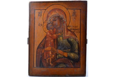 icon, Mother of God, The Seeker of the Lost, board, painting, Russia, 29.8 x 23.3 x 2.2 cm