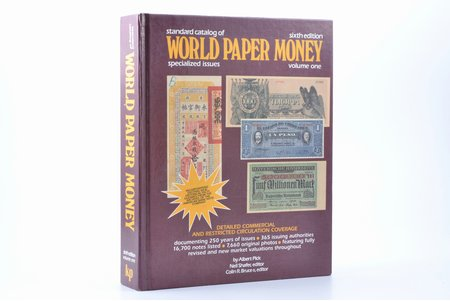 """Standard catalog of world paper money, specialized issues. Volume one"", Albert Pick, Krause Publications"