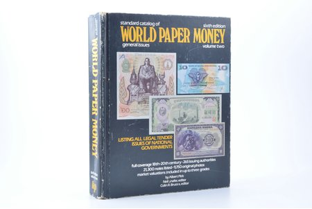 """Standard catalog of world paper money, general issues. Volume two"", Albert Pick, Krause Publications"