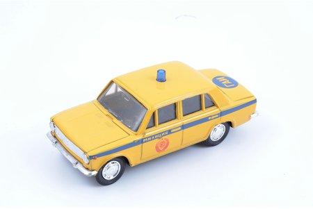"""car model, VAZ 2101, """"Militia"""", metal, Russia, ~ 1990"""