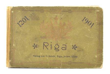 """Riga 1201-1901"", фотоальбом, 1901 г., Verlag von C. Schulz, Рига, 16 стр."