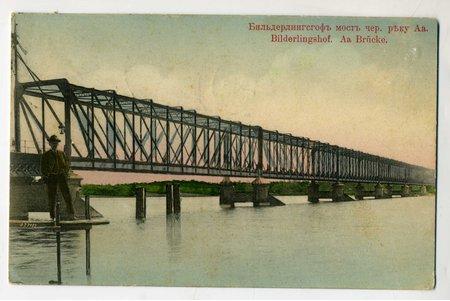 postcard, Latvia, Russia, beginning of 20th cent., 13,6x8,6 cm