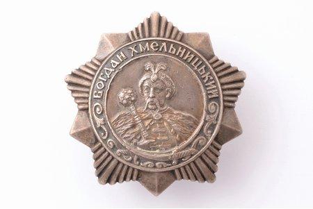 орден Богдана Хмельницкого № 4220, 3-я степень, серебро, СССР