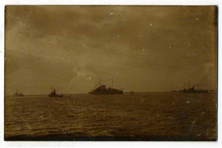photography, Latvian Army, 10th anniversary of Latvian Navy, Latvia, 20-30ties of 20th cent., 14x9 cm