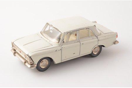автомодель, Москвич 408 № А1, металл, СССР, 1977-1978 г.