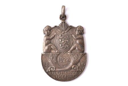 nozīme, Tautas skaitīšana (Uldrahva Lugemine), izgatavots Francijā, Igaunija, 1922 g., 40.3 x 27.3 mm